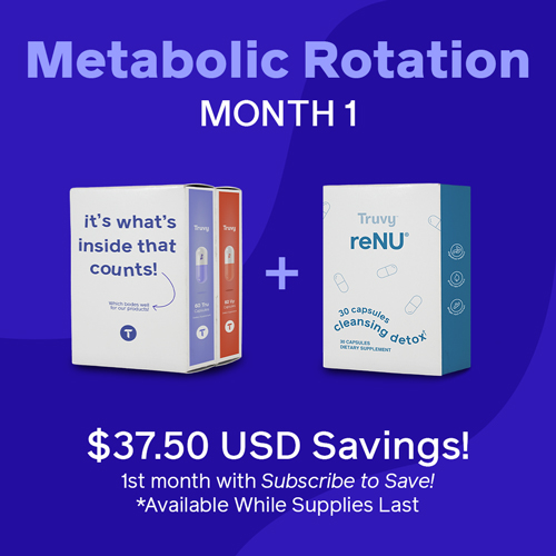 October Metabolic Rotation Promo Truvy Combo (Month 1)