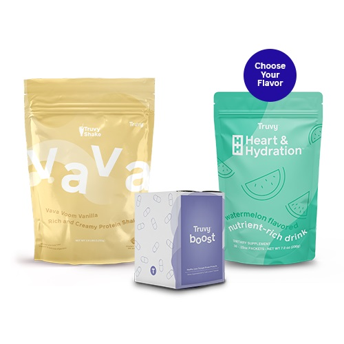 Truvy All-In Kit (VaVa Vanilla)-Boom-pack-chocolate